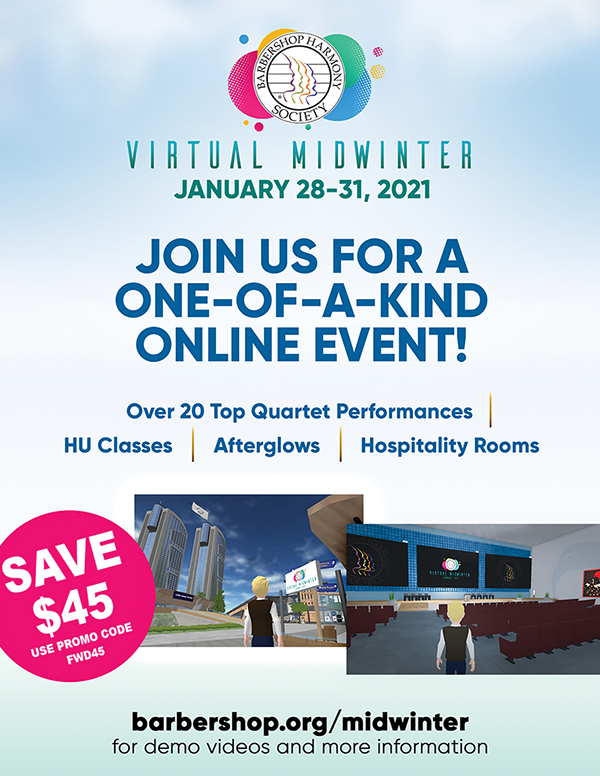 BHS 2021 Virtual Midwinter Convention